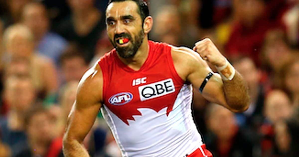 Doubts overcome, Goodes wont look too far ahead - AFL.com.au