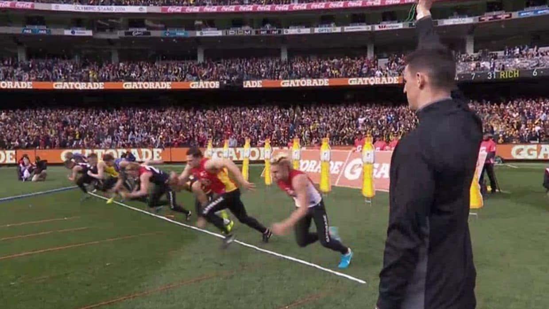Gatorade AFL Grand Final Sprint 2017