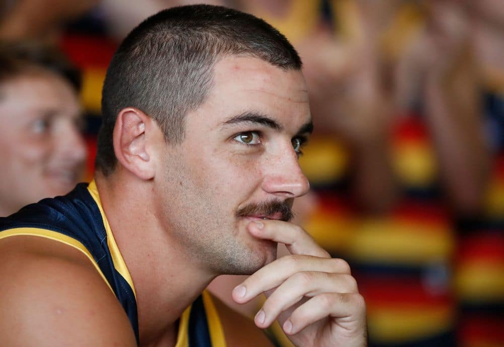 Taylor Walker during Adelaide's team photo shoot. Picture: AFL Photos