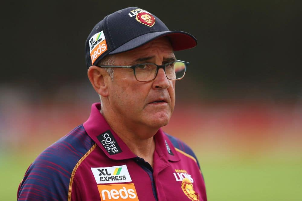 Brisbane coach Chris Fagan. Picture: AFL Photos