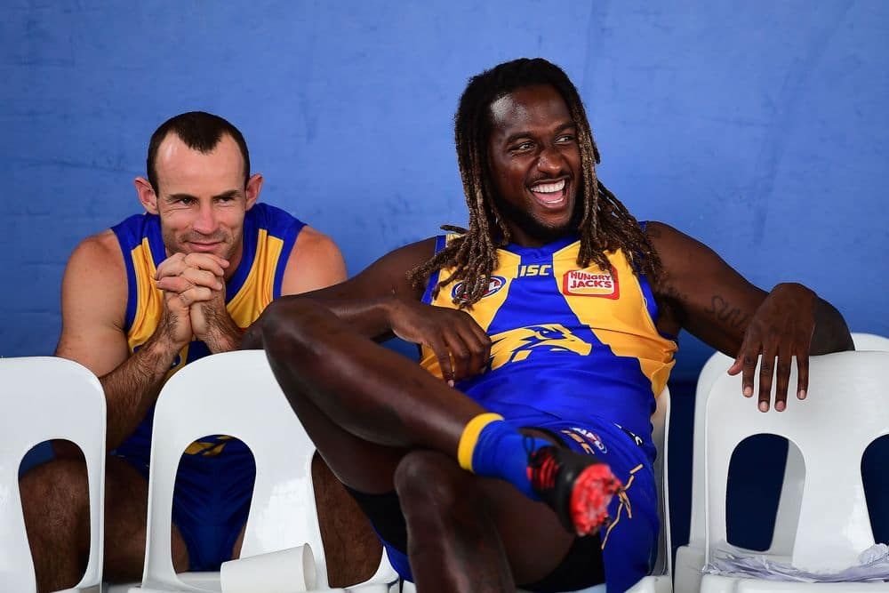 Shannon Hurn and Nic Naitanui will play in the Marsh Community Series game against Essendon
