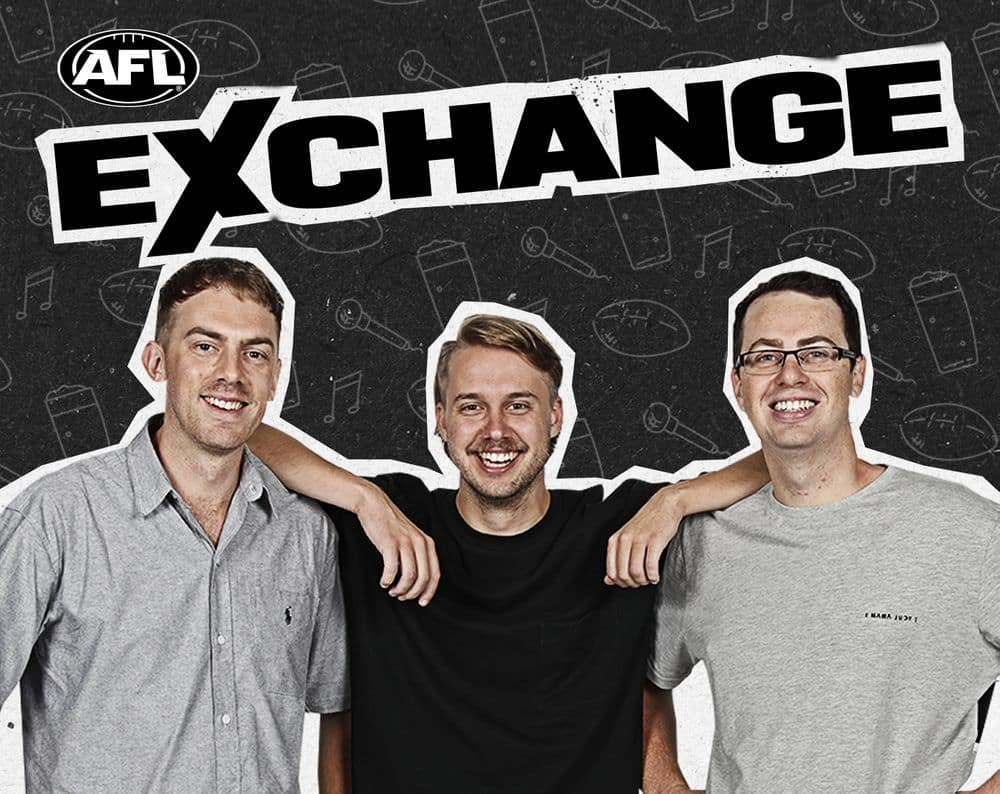 Join Cal Twomey, Riley Beveridge and Mitch Cleary for the AFL Exchange podcast