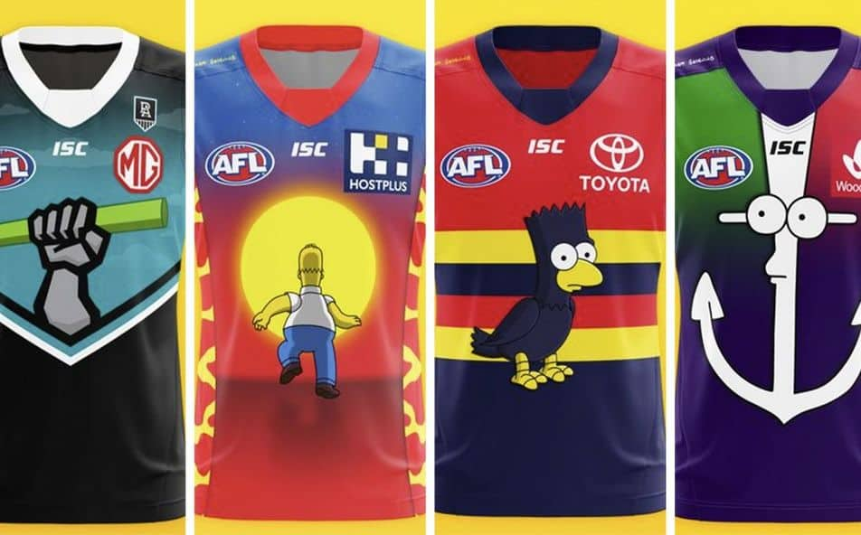 Vote Creator Of Viral Simpsons Jumpers Names His Favourite Design