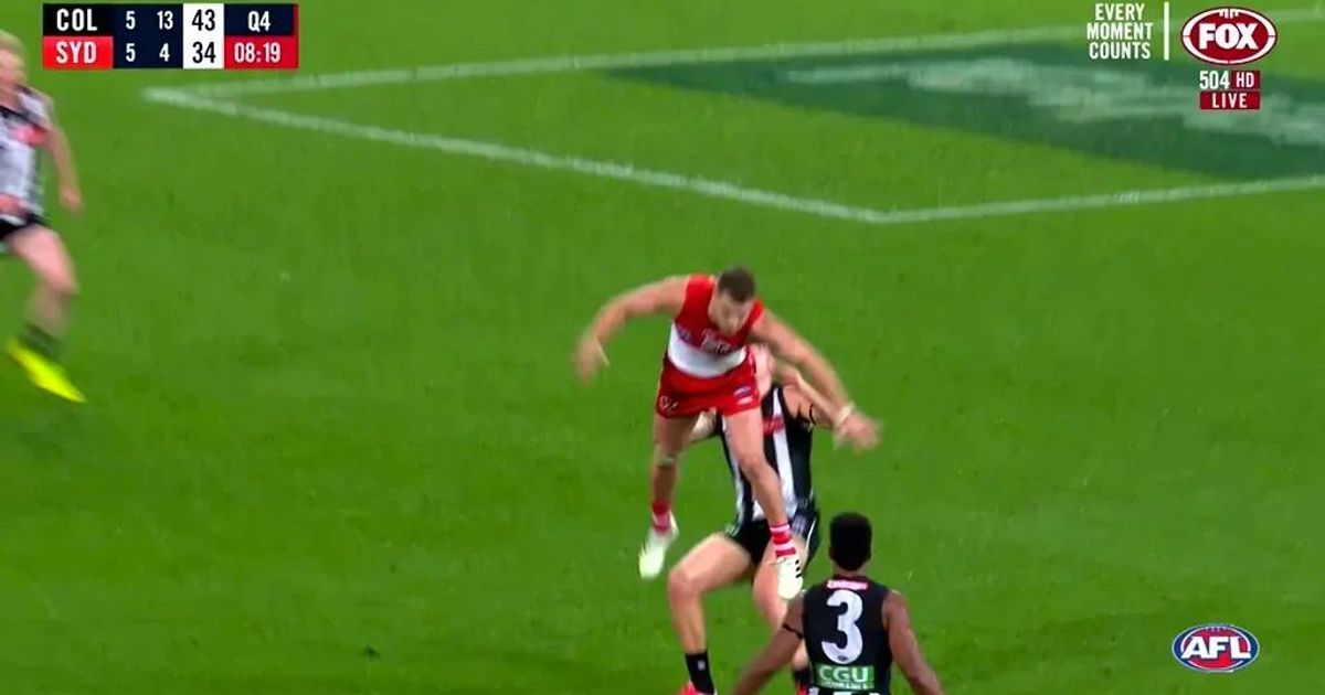 Match Review: Swan charged with staging against Pies – AFL