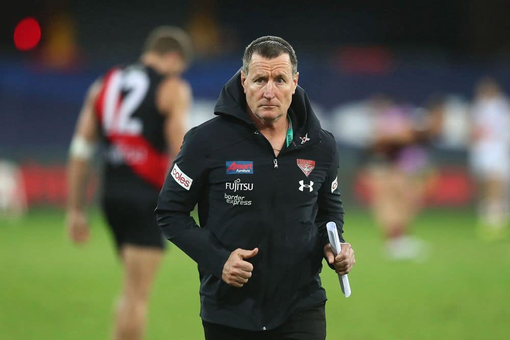 Essendon coach John Worsfold. Picture: Getty Images/AFL Photos