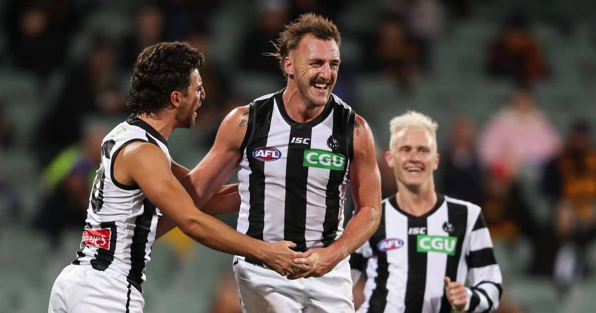 Magpies survive early scare to cruise past Crows – AFL