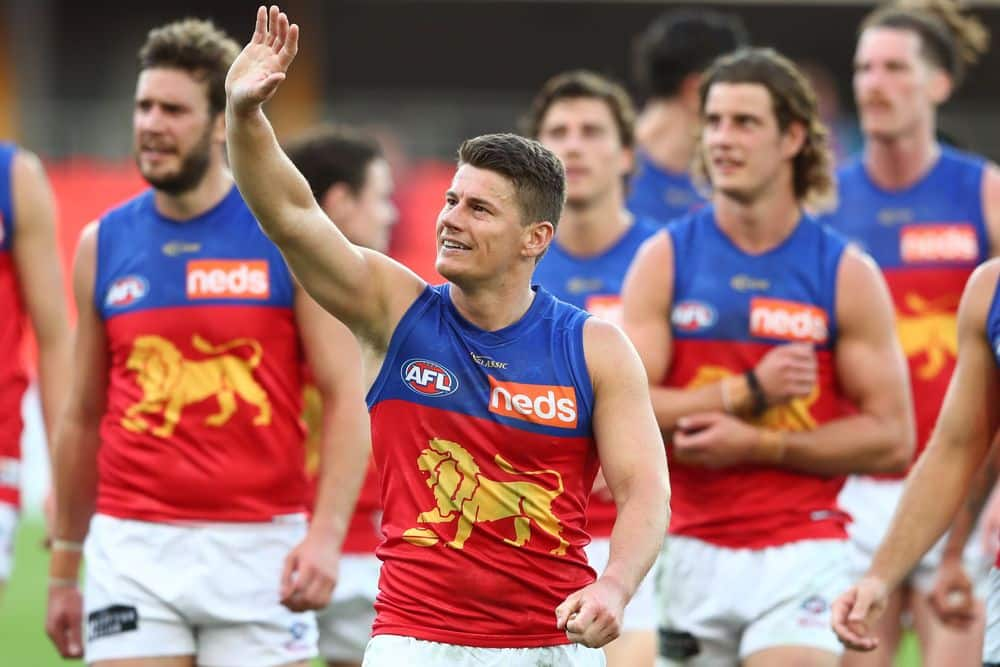 Lions star Dayne Zorko. Picture: Getty Images via AFL Photos