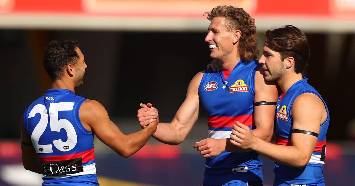 AstroNaught reaches new heights as Dogs destroy Crows – AFL