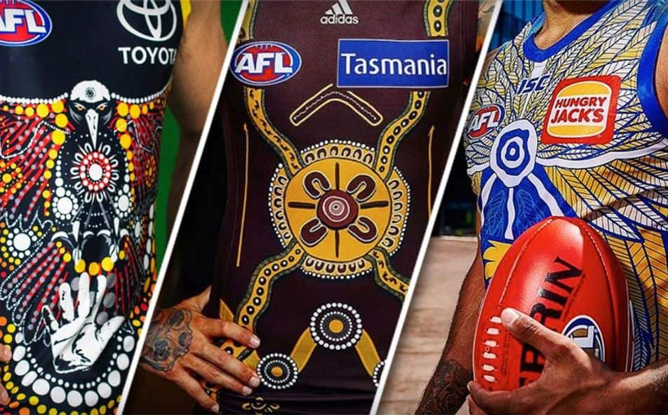 Check Out All The Indigenous Jumpers Ahead Of The 2020 Sir Doug Nicholls Round