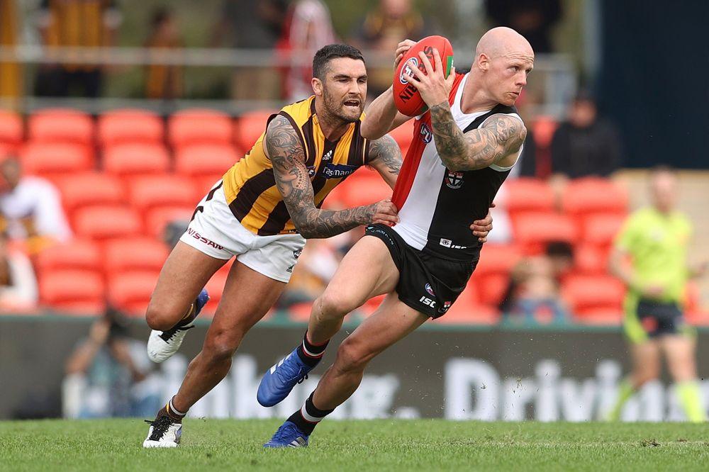 Zak Jones had 21 CBAs against the Hawks. Picture: Getty Images via AFL Photos