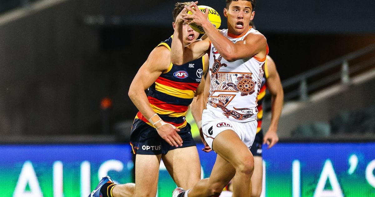 Back off Vic clubs: Giants up the ante to keep in-demand youngster Caldwell – AFL
