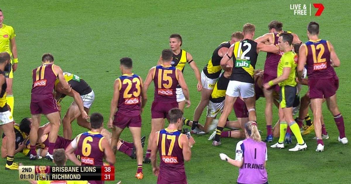 Match Review: Tiger Lion cop fines for melee – AFL