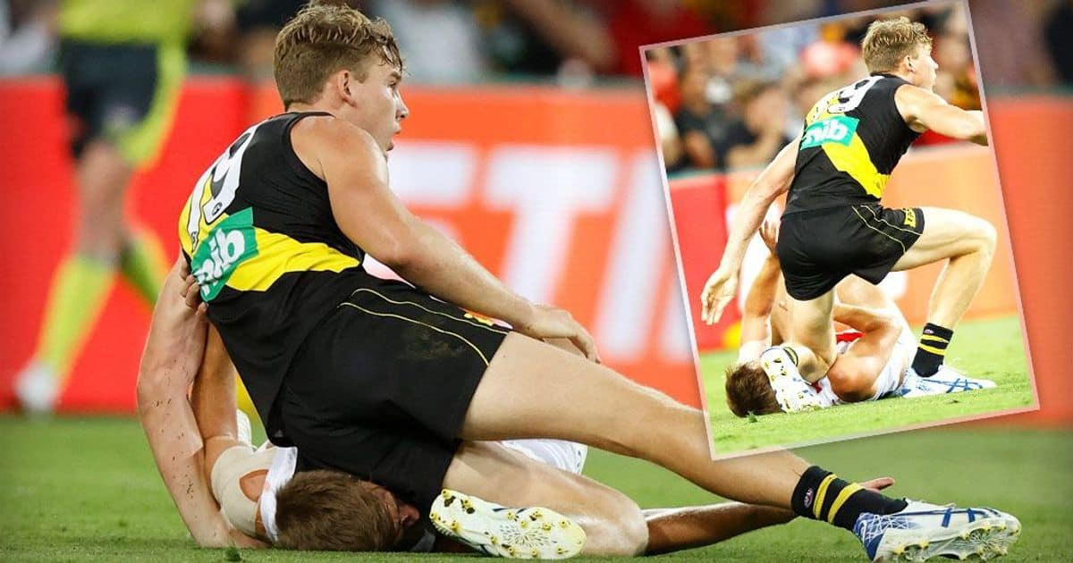 Match Review: Lynch cops misconduct charge for kneeing Saint – AFL