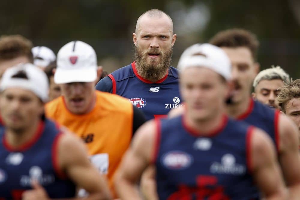 Max Gawn is the best ruckman in the game and the most expensive Fantasy player available. Picture: AFL Photos