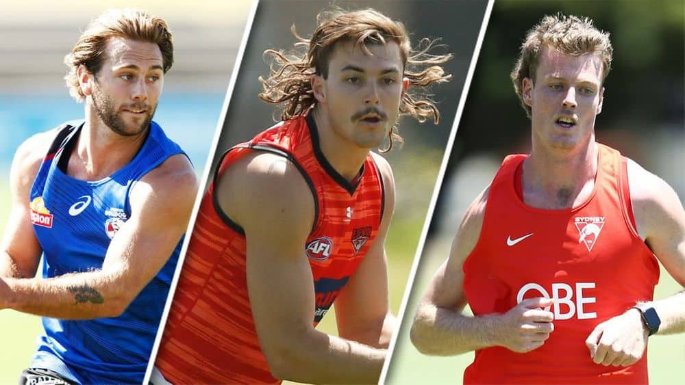 Caleb Daniel, Sam Draper and Nick Blakey could be steals in your Fantasy Draft. Picture: AFL Photos