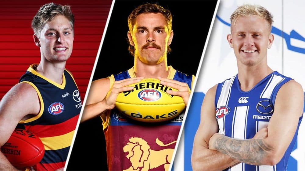 Jackson Hately, Joe Daniher and Jaidyn Stephenson are all intriguing Fantasy options. Picture: AFL Photos