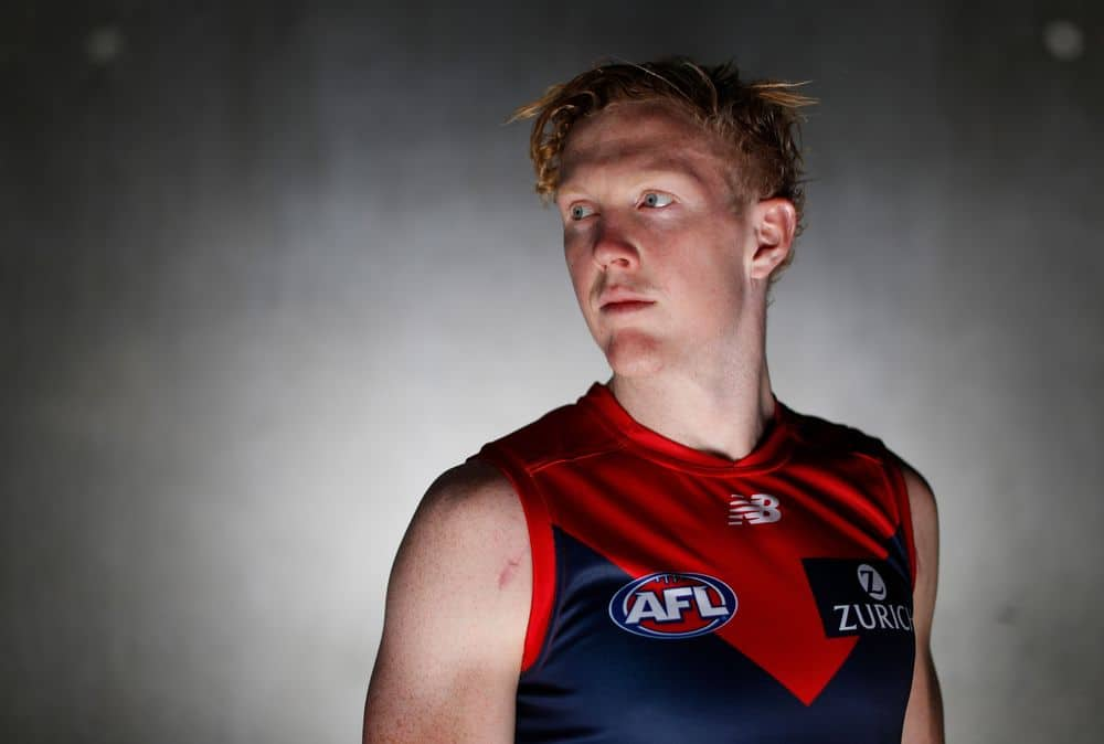 Clayton Oliver ahead of the 2021 season. Picture: AFL Photos