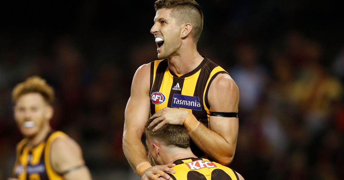 What a comeback! Hawks snatch remarkable win in Marvel thriller afl.com.au – AFL