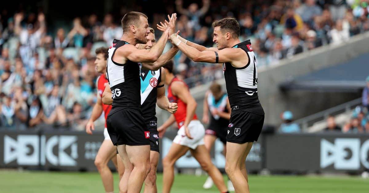 Power flex their muscles in romp over hobbled Bombers afl.com.au – AFL
