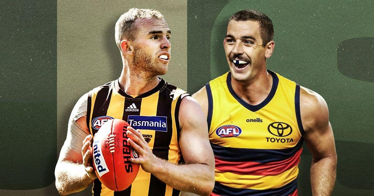 Hawthorn and Adelaide clash in Tasmania live from 12.30pm AEST – AFL
