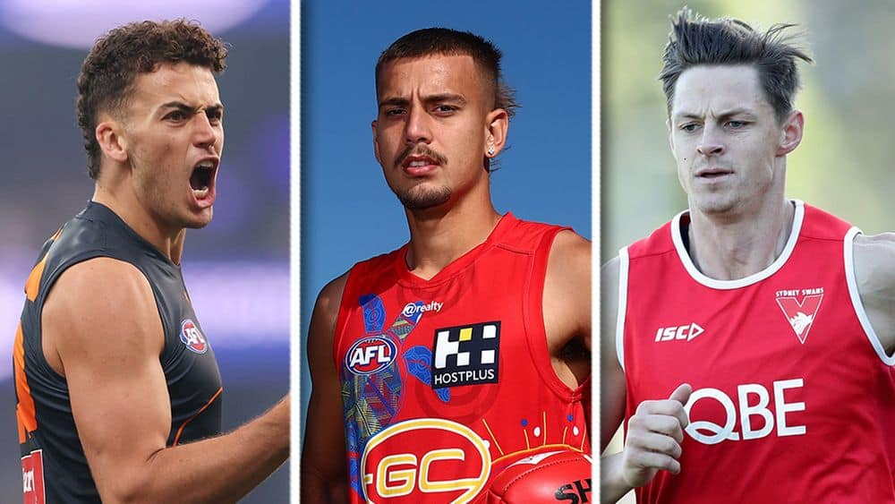 Jake Riccardi, Joel Jeffrey and Callum Sinclair starred in the state leagues. Pictures: AFL Photos