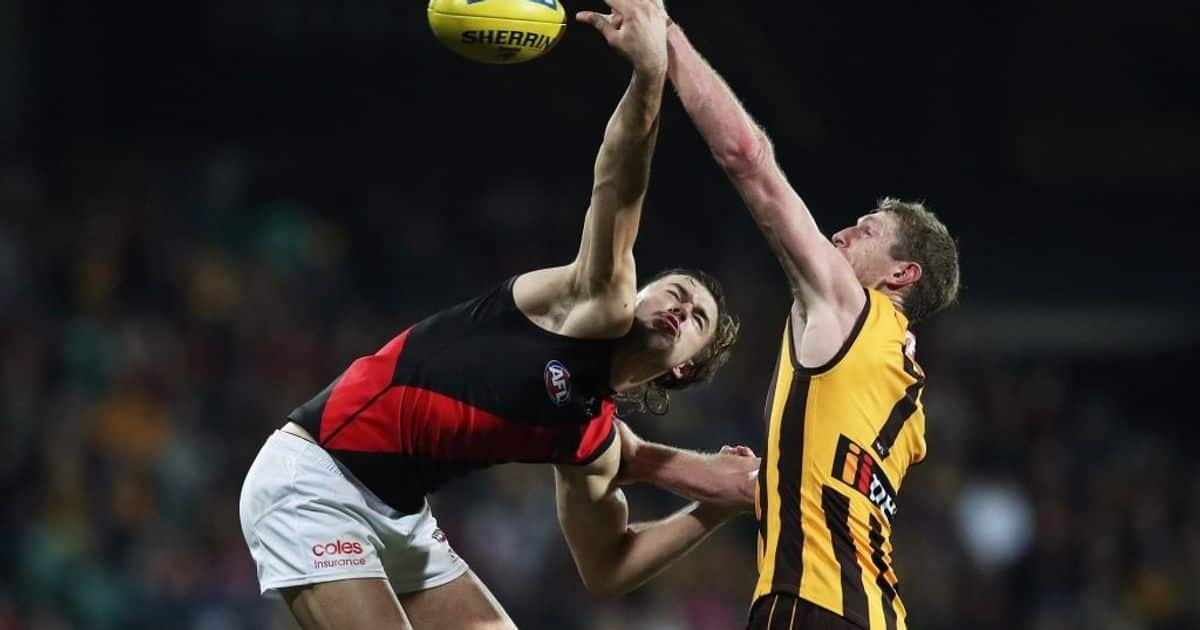 Watch the last two minutes: Hawthorn v Essendon
